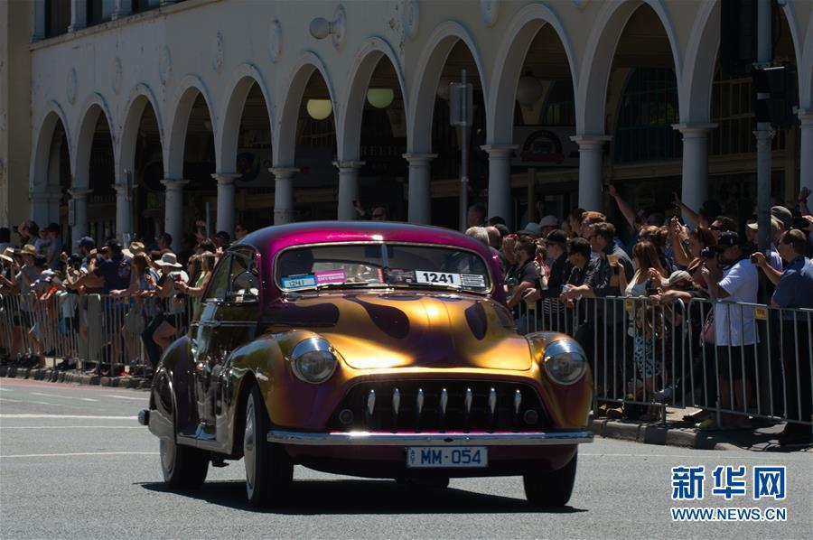 澳全国夏季汽车节开幕 老爷车改装车争相巡游