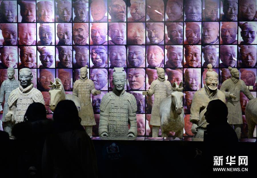 陕西周秦汉唐文物精华展