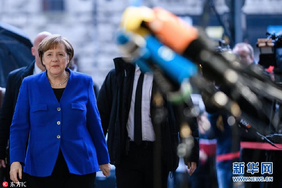 德国组阁谈判进入最后一天!默克尔略带自信