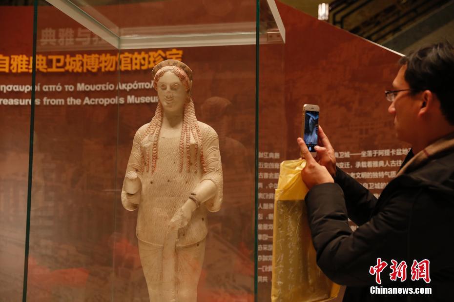"""上海博物馆与雅典卫城博物馆""""互换""""珍宝"""