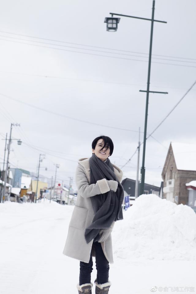 明星雪中美照 佟丽娅董璇似姐妹范冰冰惊艳