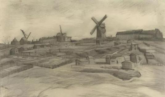 荷兰Laren博物馆将展出画家梵高素描作品