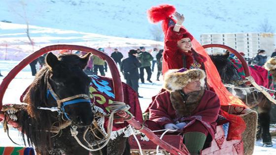 阿勒泰冰雪游主题系列活动启动