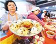 台北传统市场年货开卖