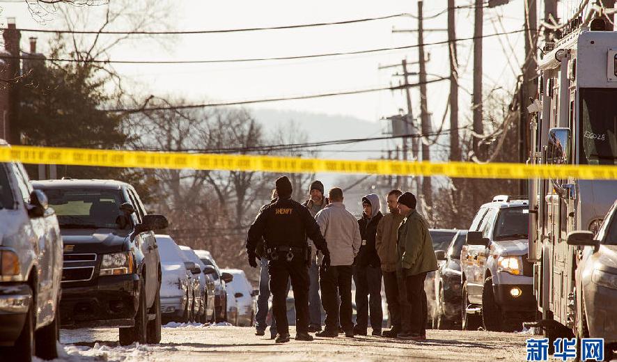 美国宾夕法尼亚州发生枪击案 多名警察受伤