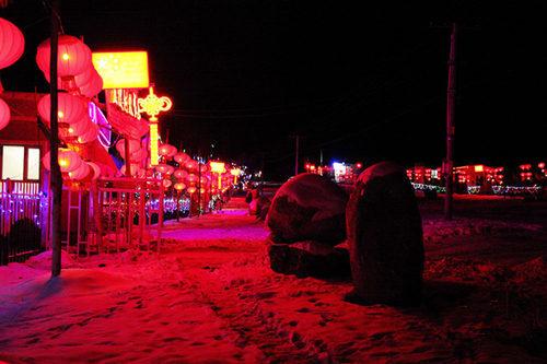 吉林援疆打造最美雪村