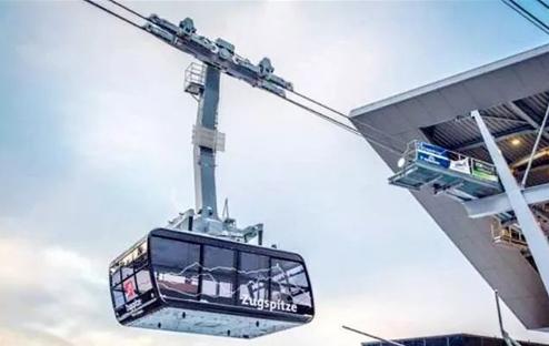 楚格峰最新缆车竣工通车 斥资5千万欧元
