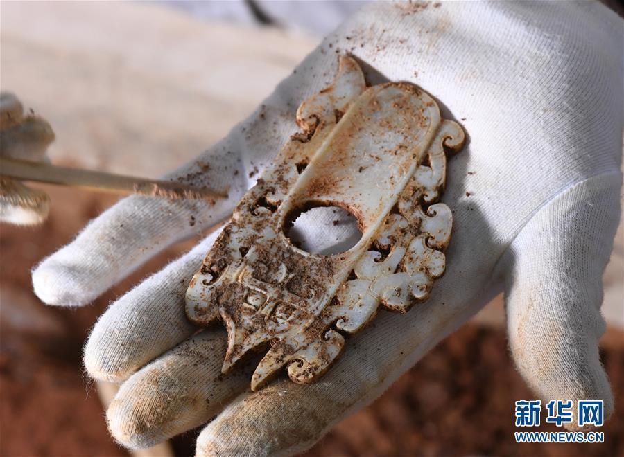 海昏侯墓内提取出百余件文物 再现精美玉器