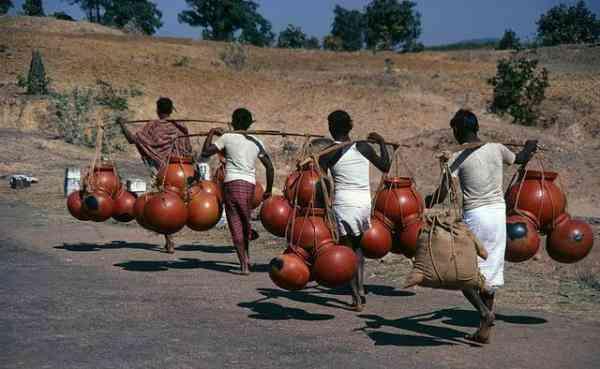 非洲人有多懒?百年来吃水都用挑,从来不打井图片