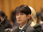 王源联合国论坛现场照