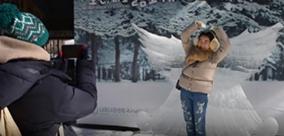 韩国南怡岛冬季恋歌
