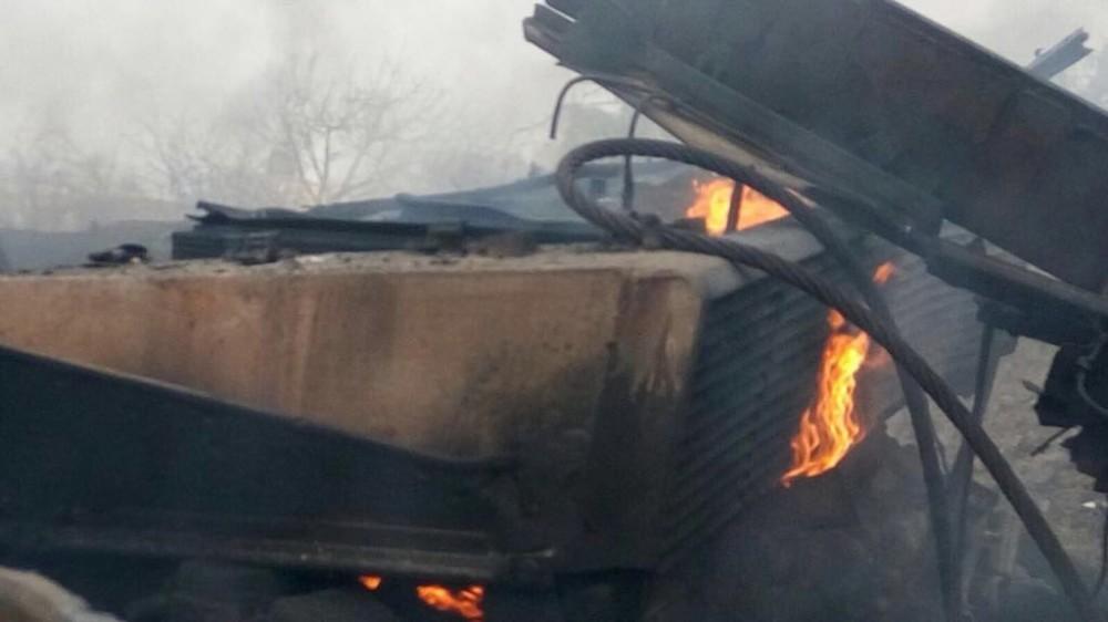 土耳其豹2A4坦克被击中惨状曝光