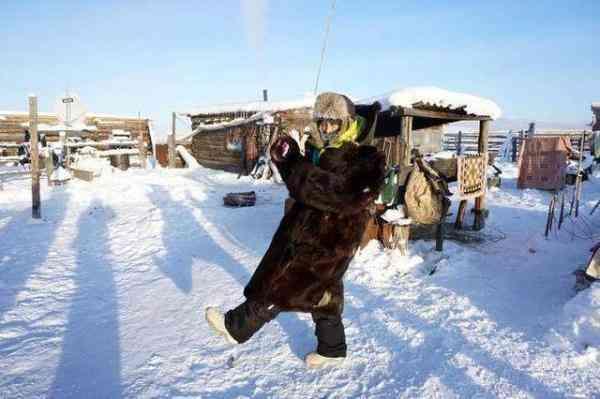 地球上最冷的村庄之一,上个厕所要控制时间
