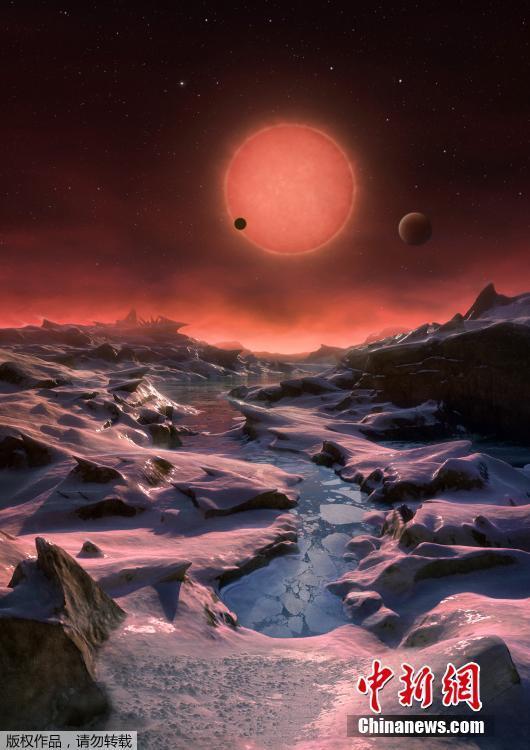 有水冰覆盖!Trappist-1可能有2颗类地行星适合人类居住