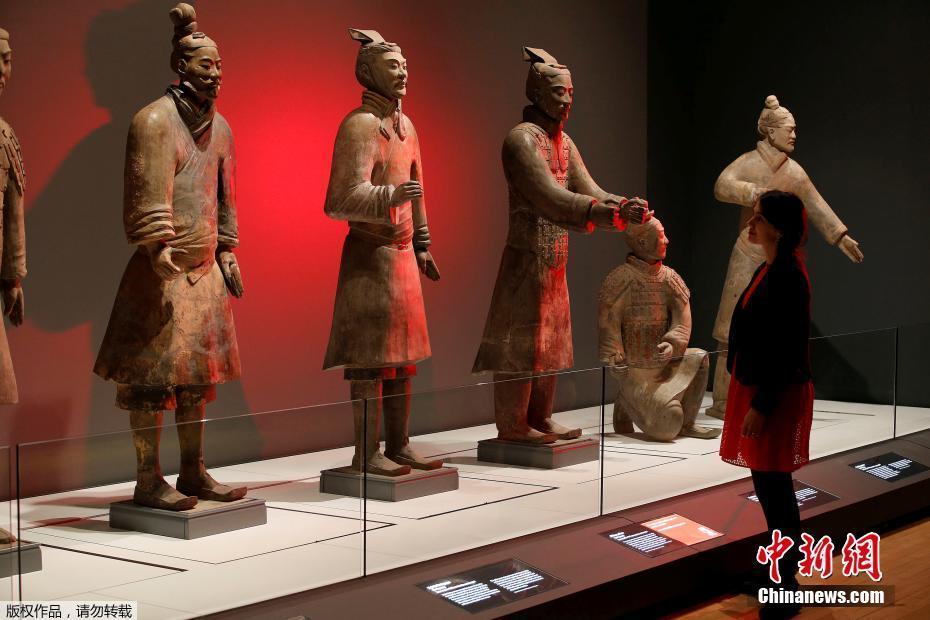 秦始皇兵马俑在利物浦展出 预售12万张票创纪录