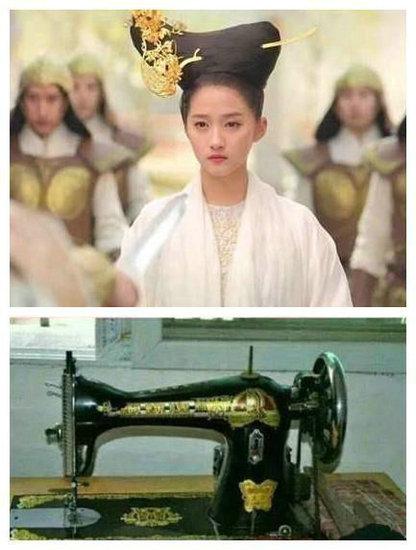 古装剧中的奇葩发型 刘嘉玲真的不觉得重吗?