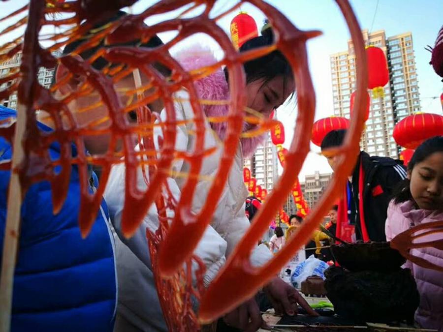 新春走基层——沧州鼓楼 民俗文化闹新春