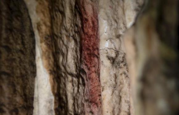 西班牙发现6.5万年前洞穴壁画