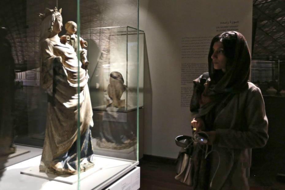 卢浮宫50件藏品在伊朗展出