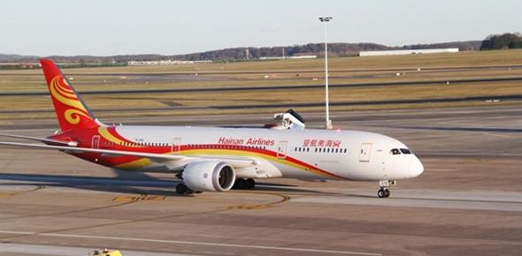 中国与比利时开通第三条直航航线