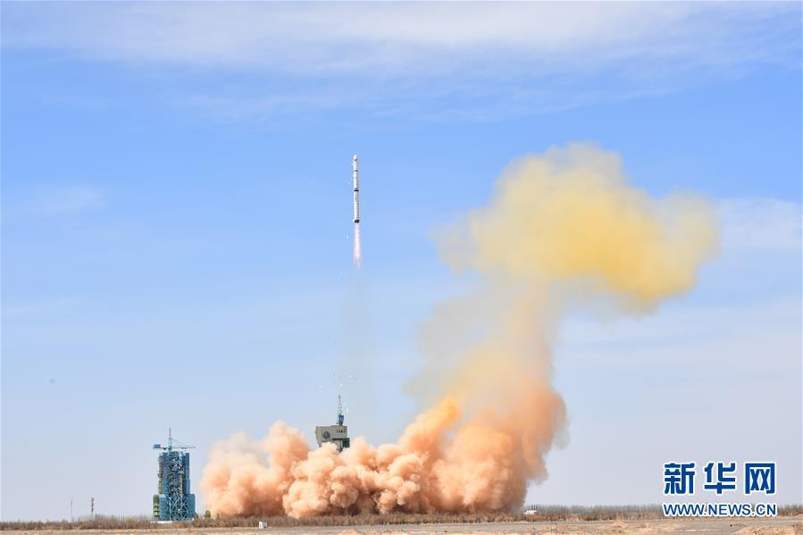 中国成功发射遥感三十一号01组卫星