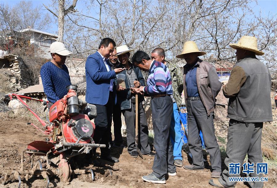 兰州:赠种子教种植 产业结构调整忙