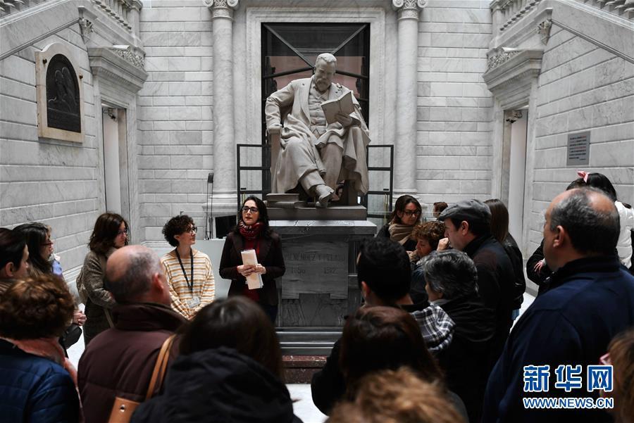 西班牙国家图书馆迎来公众开放日