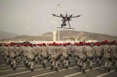 沙特王宫附近无人机被击落