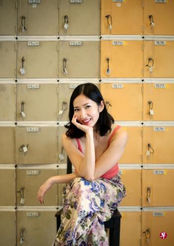 陈思敏是相当多产的实力派英语剧演员,也擅编剧。