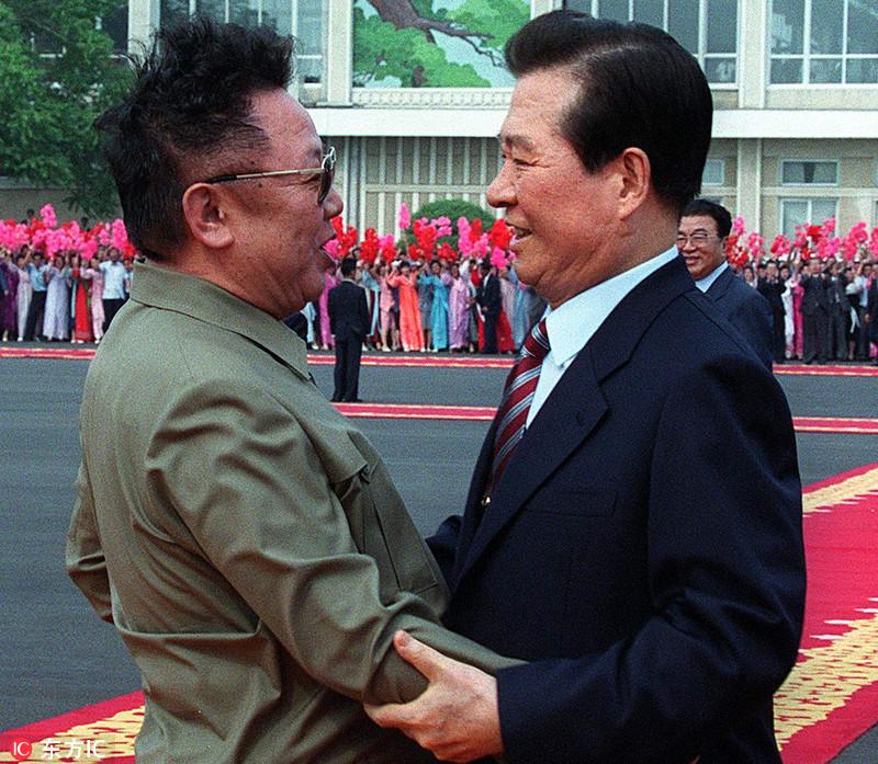 历史瞬间!朝韩首脑前两次会晤珍贵画面回顾