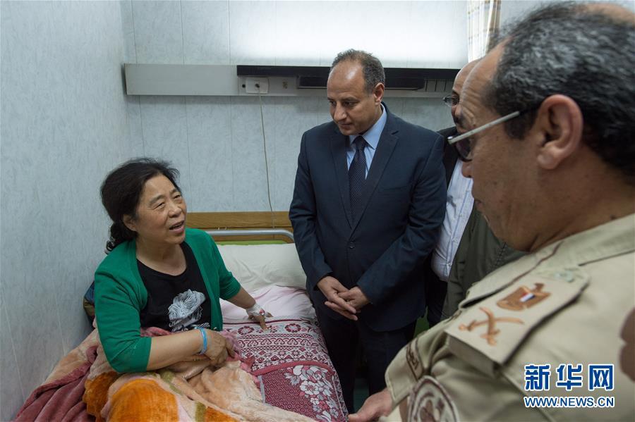 埃及车祸受伤的8名中国游客无大碍