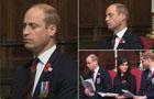 威廉出席活动一脸倦容