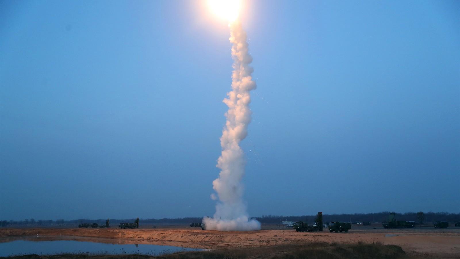 壮观!空军红旗-9实弹射击高清画面曝光