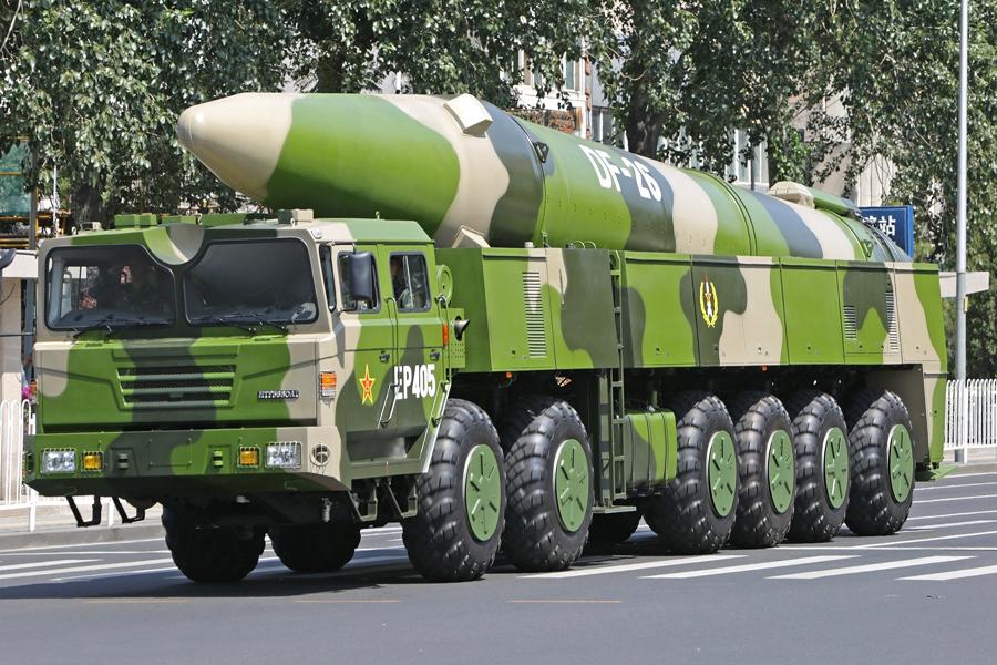 东风—26型导弹列装火箭军