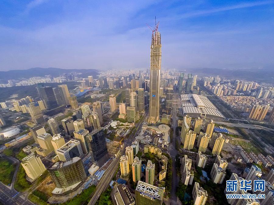 经历改革开放40周年,深圳已经从一个小渔村发展成一线大都市.(网络图片