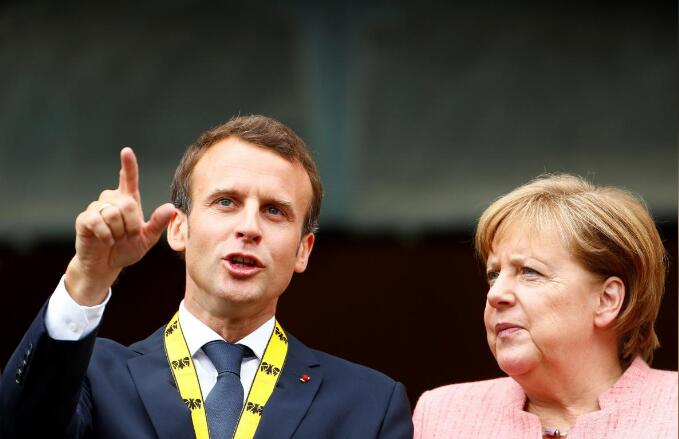 马克龙默克尔准备在G7挑战美国 或不发表联合公报