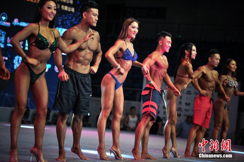 2018年CBBA全国健美锦标赛在天津举行