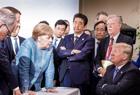 G7六国领袖围战特朗普