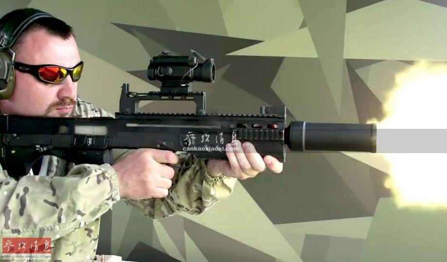 单兵重机枪!俄ASh突击步枪可灭装甲车