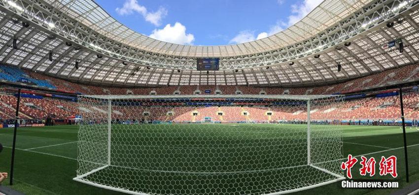 走进卢日尼基体育场 世界杯揭幕战将在这里开启