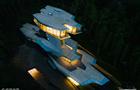 俄富豪私宅形似太空飞船