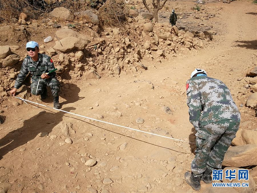 中国赴苏丹维和工兵分队圆满完成道路勘察任务