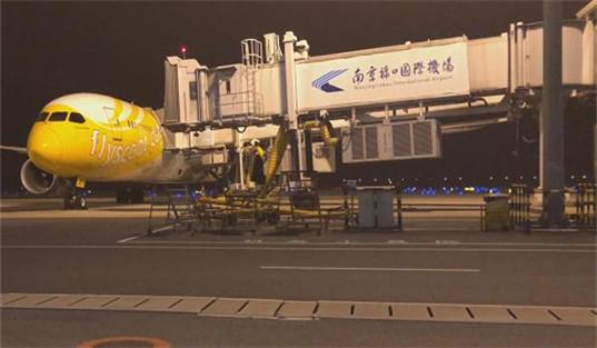 飞机轮胎破损航班取消 400名赴新旅客行程受阻