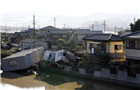 日本暴雨过后满目疮痍