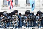 英皇家空军举行100周年庆典