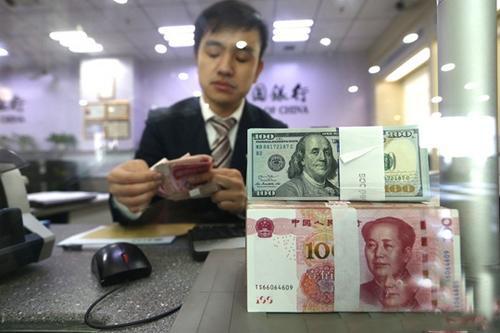 12日人民币对美元汇率中间价下跌492个基点