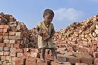印度童工的辛酸生活