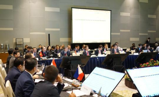 第12次中國-東盟海事磋商機制會議在新加坡舉行