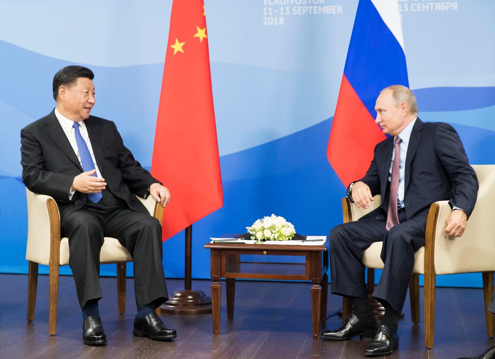 今年第三次!习近平和普京又见面了