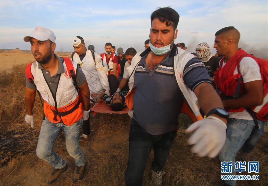 加沙地带边境发生冲突